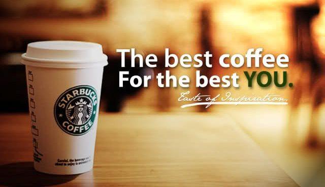Starbucks: наполняет души, а не животы