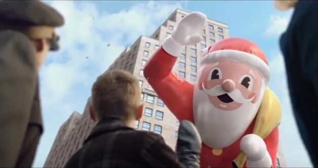 3 новые праздничные рекламы