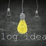 Неиссякаемые темы для блога. 29,5 вариантов для статей